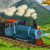 Happy train jigsaw puzzle