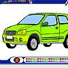 Hatchback Car Coloring