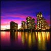 Jigsaw city skyline