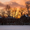 Jigsaw: Sunset In Winter