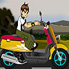 Kid motorbike