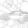 Kid's coloring: Audi