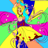 Kid's coloring: Dance