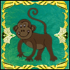 Monkey frame