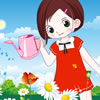 Little Gardener Girl Dressup