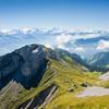 Mountain top view jigsaw