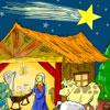 Nativity Scene Coloring Game