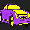 Old catera car coloring