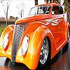 Orange truck slide puzzle
