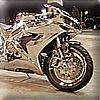 Platinum motorbike