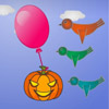 Pumpkin With Balloon