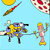 Robots coloring