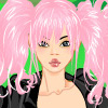 Rocker girl dress up game