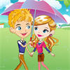 Romantic Raining Love