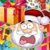 Santa Gift Falling Down