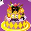 Scary Halloween Cake