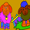 Sheep Coloring Game