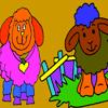 Sheep Coloring Game