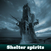Shelter spirits. Find objects