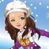 Shining Girl Skiing Dress Up