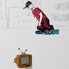 Skateboard Man