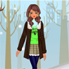 Stylish Winter Girl Dress Up