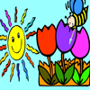 Sun Bee Coloring Games