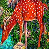 Thirsty spotted deer puzzle