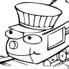 Train Coloring book 2