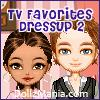 TV Favorites Dressup Game 2 – Greekie