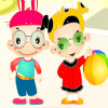 Twin Babys Dressup