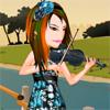 Violinist Priscilla