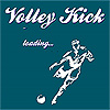 Volley kick