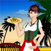 Waitress Girl Dress Up