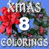 XMAS 8 Colorings